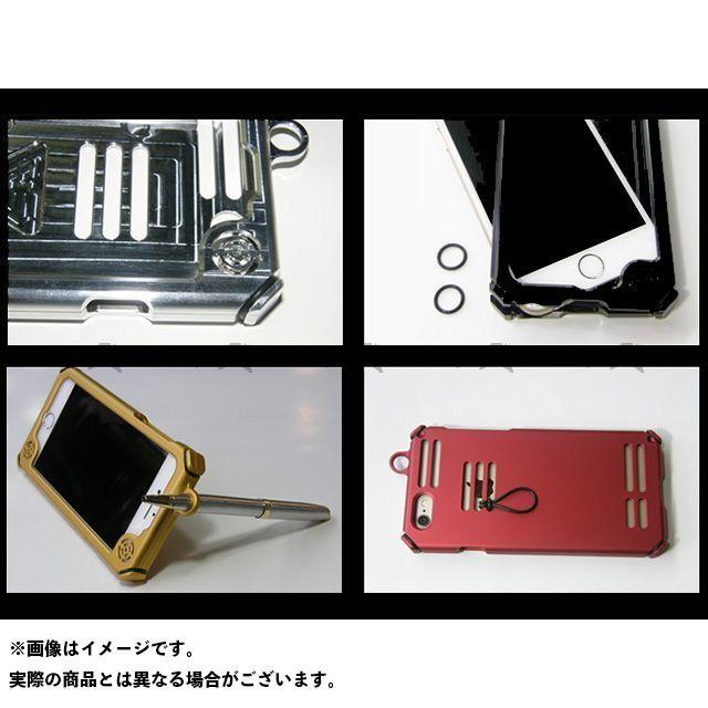 送料無料 ハードコア HARDCORE 小物・ケース類 メタルサウンドジャケット iPhone6s/6 艶ありモスグリーン