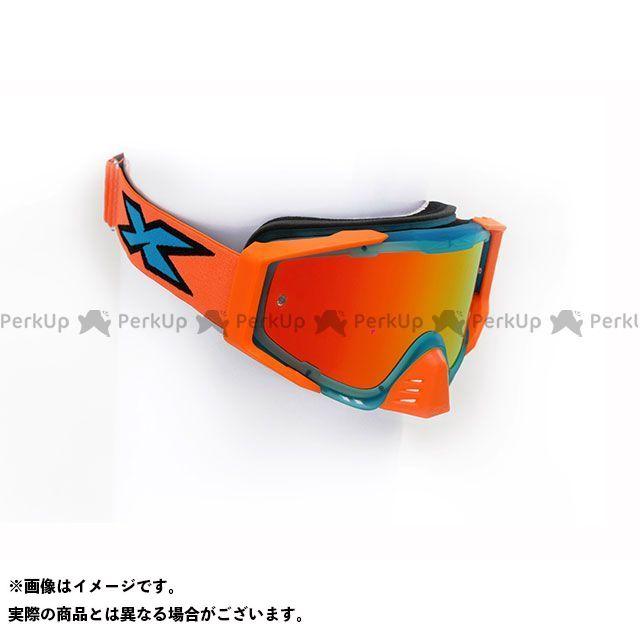 イクスブランド EKS-S 2017 エックス・エス ゴーグル(シアン/フローオレンジ/ブラック) EKS Brand