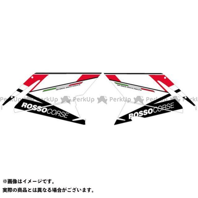 MDF 749S 999S 749S/999S グラフィックキット アタッカーモデル レッドタイプ タイプ:フロントサイドセット エムディーエフ