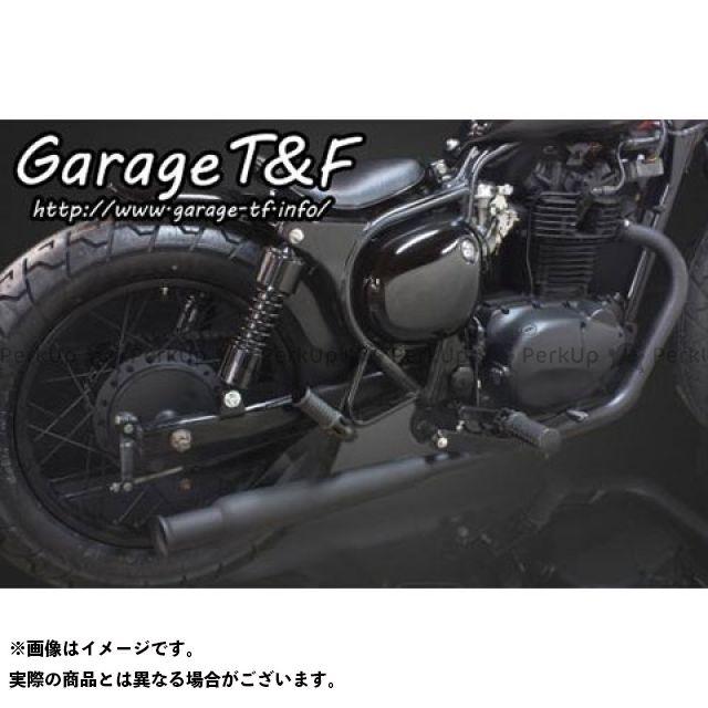 ガレージT&F エストレヤ トランペットマフラー フルエキタイプ(ブラック) サイレンサー:ブラック ガレージティーアンドエフ
