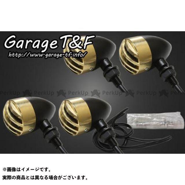 ガレージT&F マグナ50 ウインカー関連パーツ バードゲージウィンカータイプ1(ブラック) ダークレンズ仕様 キット 真鍮