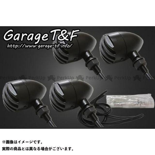 ガレージT&F マグナ50 ウインカー関連パーツ バードゲージウィンカータイプ1(ブラック) ダークレンズ仕様 キット ブラック