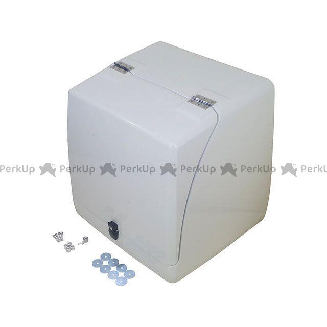 ハンター ジャイロキャノピー ツーリング用ボックス 国産ジャイロキャノピー用 シンプル リアボックス ta02 ta03 白