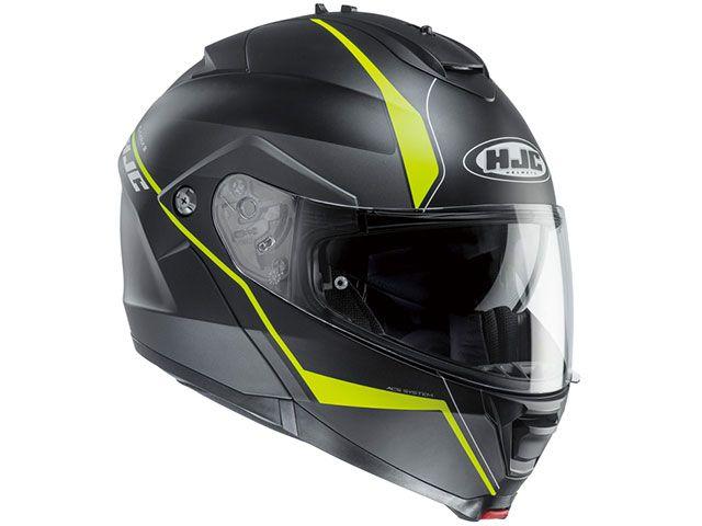 送料無料 HJC エイチジェイシー システムヘルメット(フリップアップ) HJH101 IS-MAX2 マイン ブラック/イエロー S/55-56cm