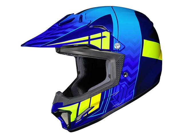 送料無料 HJC エイチジェイシー レディース・キッズヘルメット HJH099 CL-XY2 クロスアップ ブルー L/53-54cm