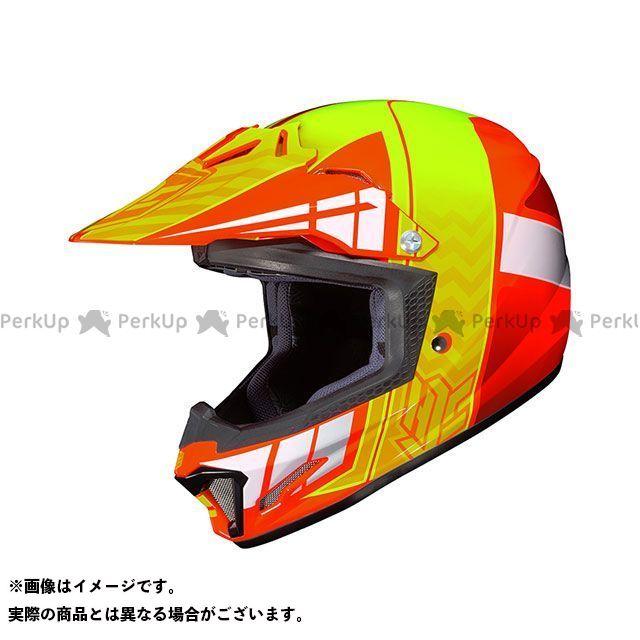 送料無料 HJC エイチジェイシー レディース・キッズヘルメット HJH099 CL-XY2 クロスアップ オレンジ M/51-52cm