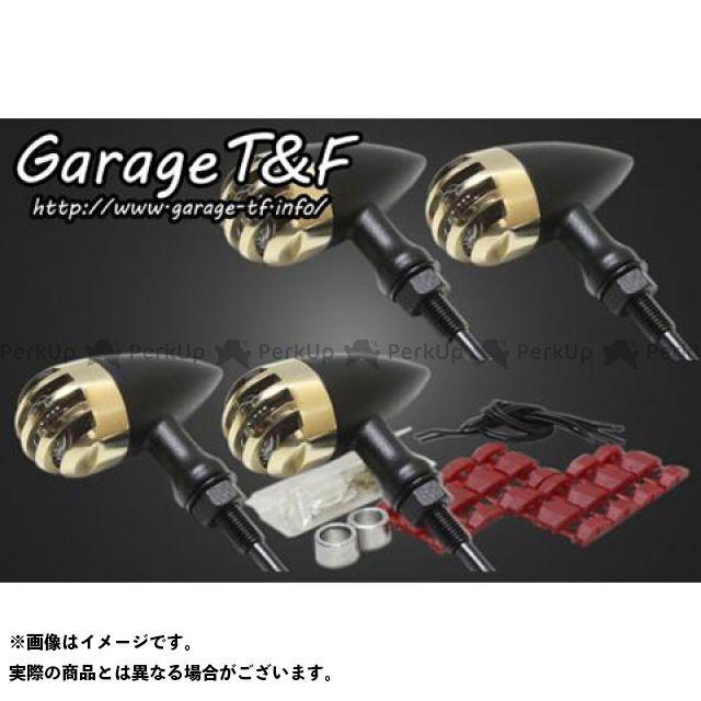 ガレージT&F W650 ウインカー関連パーツ バードゲージウィンカータイプ2 ダークレンズ仕様 キット ブラック 真鍮