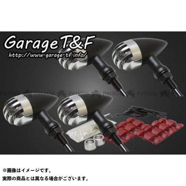 ガレージT&F W650 ウインカー関連パーツ バードゲージウィンカータイプ2 ダークレンズ仕様 キット ブラック ポリッシュ