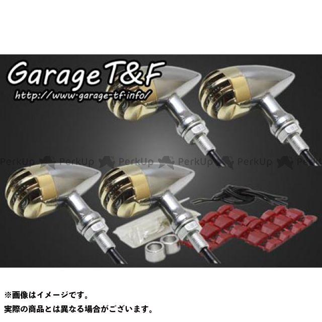 ガレージT&F W650 ウインカー関連パーツ バードゲージウィンカータイプ2 ダークレンズ仕様 キット ポリッシュ 真鍮