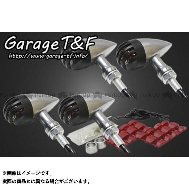 ガレージT&F W650 ウインカー関連パーツ バードゲージウィンカータイプ2 ダークレンズ仕様 キット ポリッシュ ブラック
