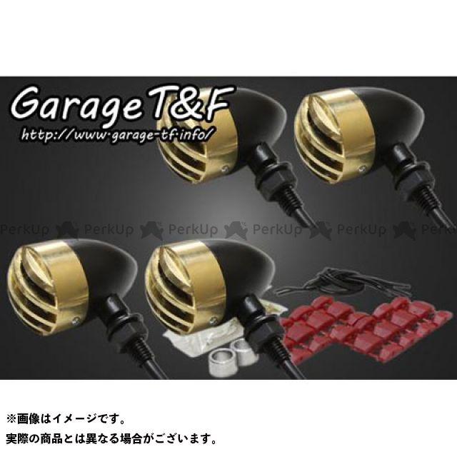 ガレージT&F W650 ウインカー関連パーツ バードゲージウィンカータイプ1(ブラック) ダークレンズ仕様 キット 真鍮
