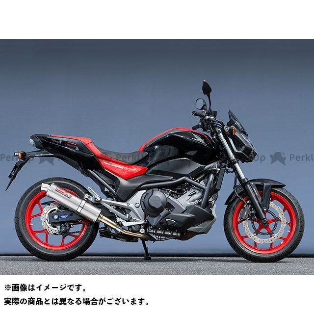 ヤマモトレーシング NC750S NC750X 16~NC750S/X SLIP-ON チタン YAMAMOTO RACING