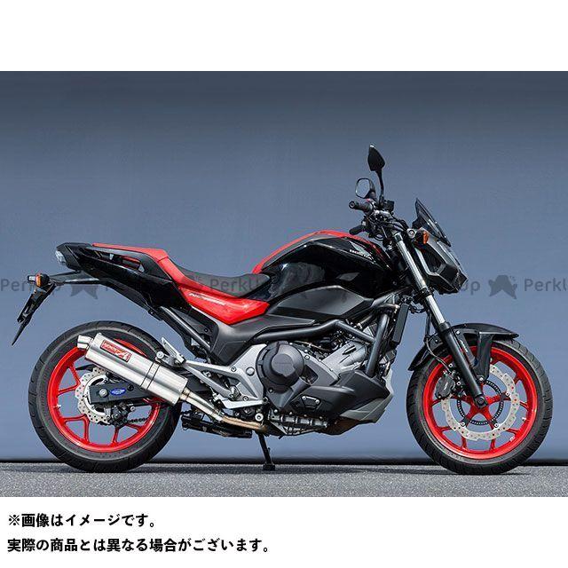 ヤマモトレーシング NC750S NC750X 16~NC750S/X SLIP-ON オーバル YAMAMOTO RACING