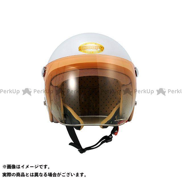 送料無料 AXS アークス ジェットヘルメット SNJ-24 スヌーピー ヘルメット フラワー(アイボリー)