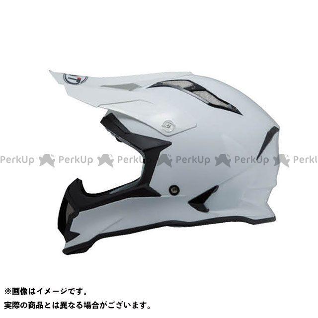 送料無料 KYT ケーワイティー オフロードヘルメット STRIKE EAGLE ソリッドホワイト L/59-60cm