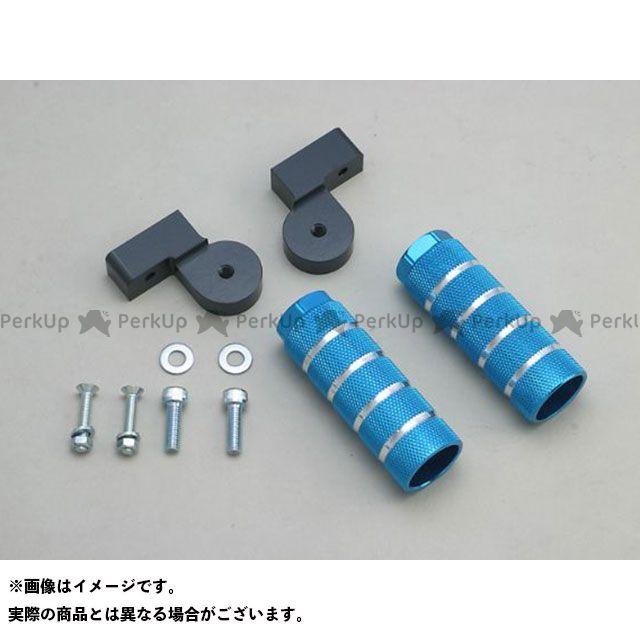 アディオ エヌマックス155 エヌマックス125 バックステップキット カラー:ブルー メーカー在庫あり ADIO