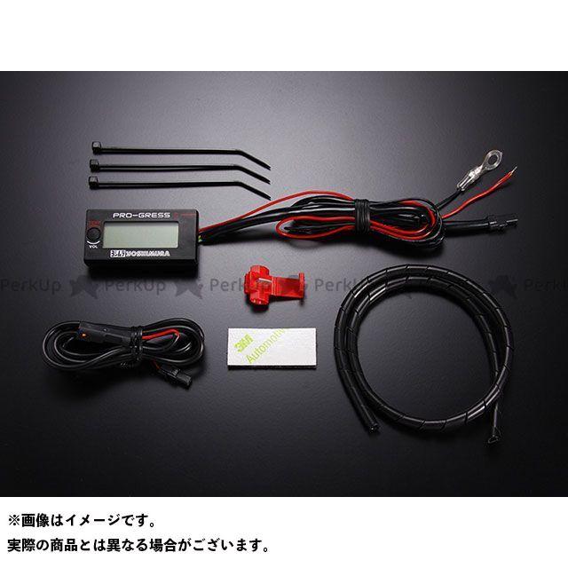 送料無料 ヨシムラ 汎用 温度計 PRO-GRESS1 テンプ・ボルトメーター