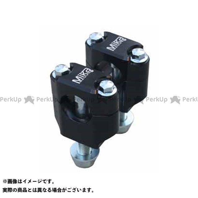 ミカメタルズ 汎用 クランプキット カラー:ブラック バーサイズ:・7/8 MIKAメタルズ