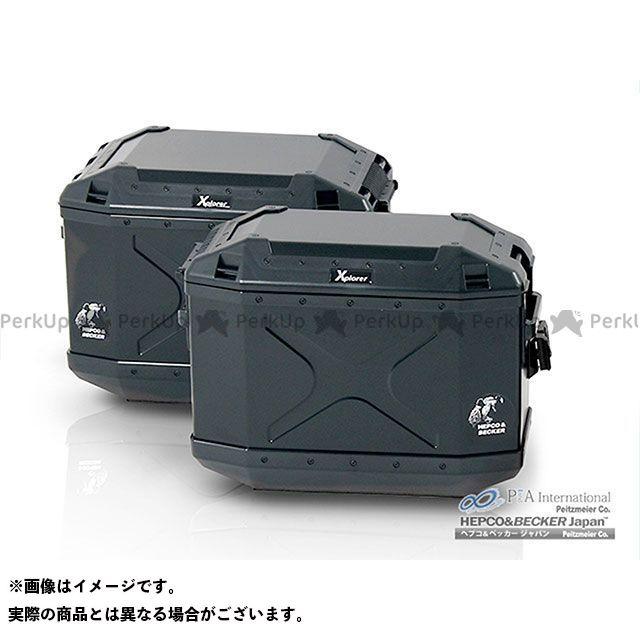 送料無料 ヘプコアンドベッカー HEPCO&BECKER ツーリング用バッグ XPLORER サイドケース 40 ブラック 右側