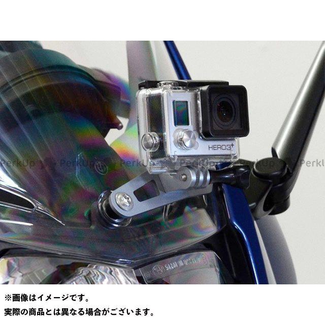 ワンダーリッヒ F800GT F800ST アクションカメラホルダー(シルバー)