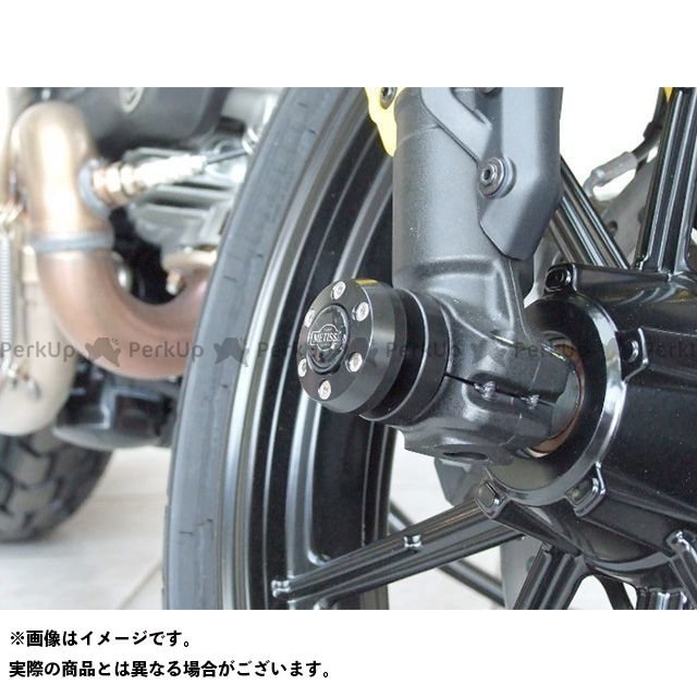パイツマイヤー ドゥカティその他 フロントフォークスライダー X-Pad(エックスパッド) Ducati Scrambler(ブラック) Peitzmeier