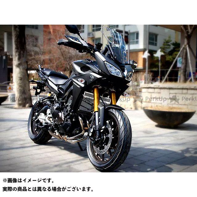 ディーゼル トレーサー900・MT-09トレーサー ラジエター関連パーツ 3D ラジエターコアガード