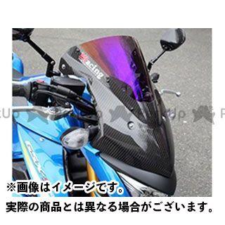 【特価品】マジカルレーシング GSX-S1000 バイザースクリーン 材質:綾織りカーボン製 カラー:スーパーコート Magical Racing