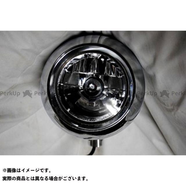 部品屋K&W ハーレー汎用 ヘッドライト・バルブ アイボールヘッドライト1