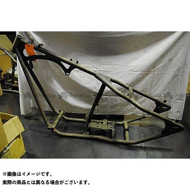 部品屋K&W ハーレー汎用 250幅タイヤ対応フレーム ブヒンヤケーアンドダブリュー