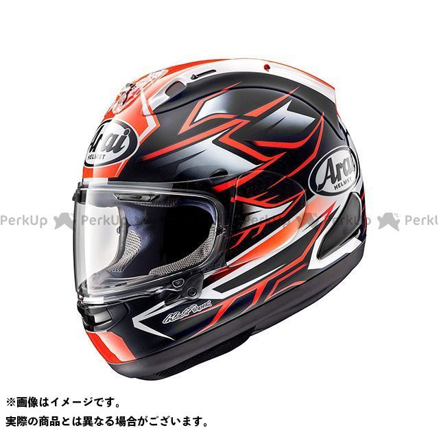 アライ ヘルメット Arai フルフェイスヘルメット RX-7X GHOST(ゴースト) レッド 55-56cm