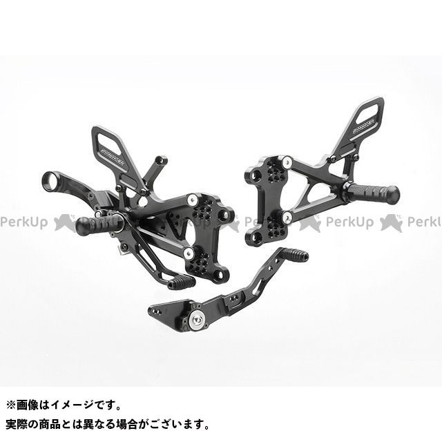 ストライカー YZF-R1 スペシャルステップキット TypeS&R 9ポジション(ブラック) STRIKER