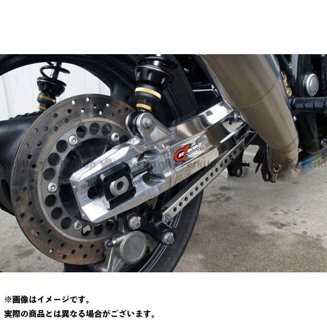 ストライカー XJR1200 G-STRIKER スイングアーム 表面仕上げ:バフ仕上 アジャスター部:ブラックアルマイト STRIKER