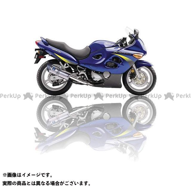 イクシル GSX600F スズキ GSX 600 F (98-05) AJ スリップオンマフラー マフラータイプ:SOVE IXIL