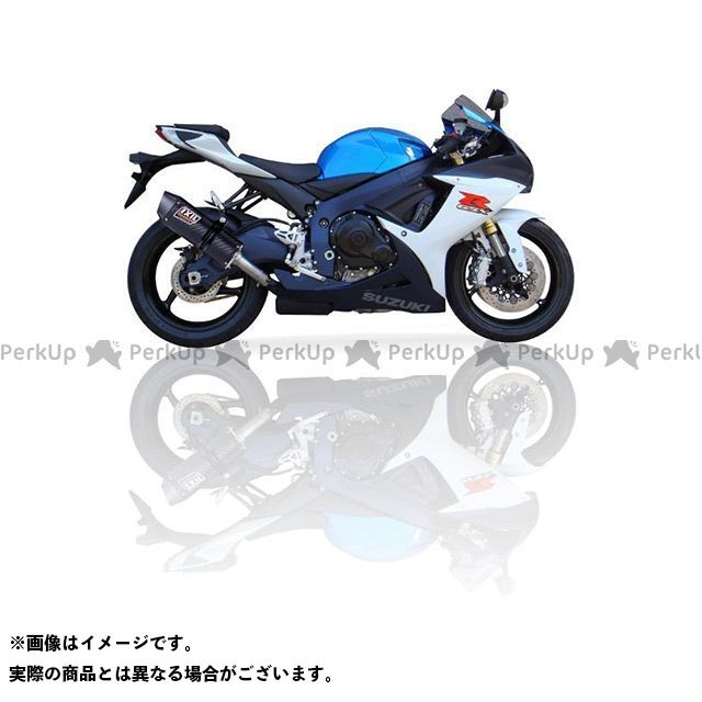イクシル GSX-R600 スズキ GSX 600 R (11-15) スリップオンマフラー マフラータイプ:COV-オーバルタイプ フルエキ IXIL