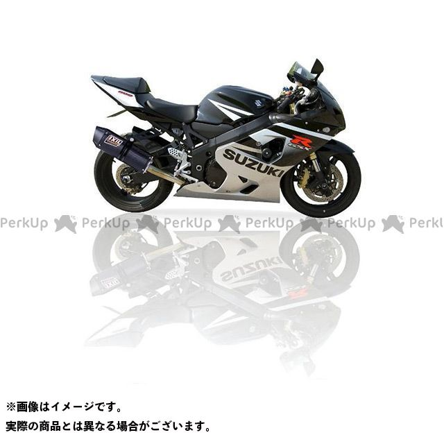 イクシル GSX-R750 スズキ GSX 750 R (00-03) BD スリップオンマフラー COV