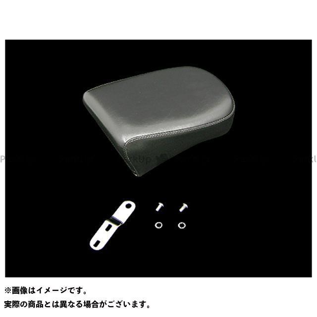 送料無料 ラペラ ツーリングファミリー汎用 シート関連パーツ ベアボーンソロ用ピリオン 08-16yツアラー(ブラック)