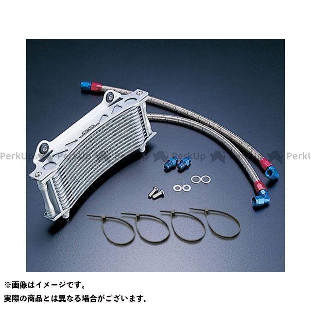 アクティブ GSX1100Sカタナ オイルクーラー オイルクーラーキット ラウンド #6 9-13R シルバー