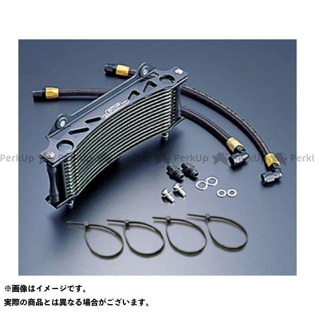 アクティブ GSX1100Sカタナ オイルクーラーキット ラウンド #6 9-13R カラー:ブラック ACTIVE