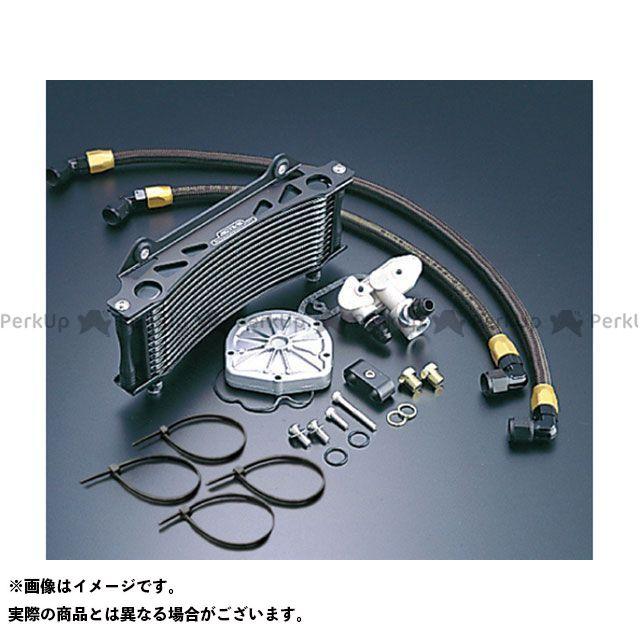 アクティブ GSX1100Sカタナ オイルクーラーキット(サイド廻し) ラウンド #6 9-16R カラー:ブラック ACTIVE