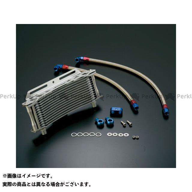 【エントリーで更にP5倍】アクティブ GPZ750R ニンジャ900 オイルクーラーキット ラウンド #6 11-13R カラー:シルバー ACTIVE