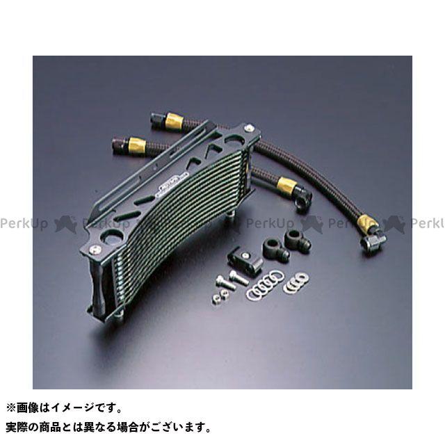 アクティブ GPZ750R ニンジャ900 オイルクーラー オイルクーラーキット ラウンド #6 11-13R ブラック