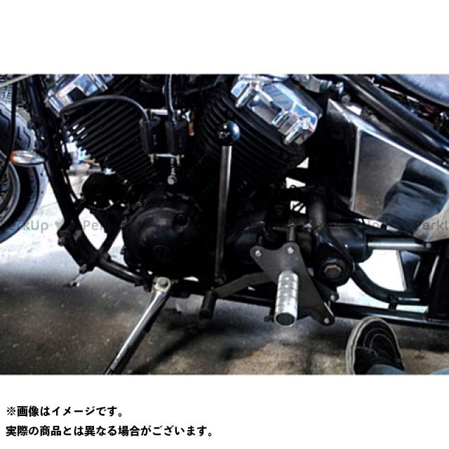 部品屋K&W ドラッグスター400(DS4) DS400用ジョッキーシフトKIT ミッドコントロール対応タイプ ブヒンヤケーアンドダブリュー