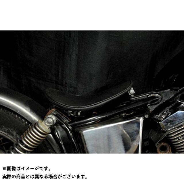 部品屋K&W ドラッグスター250(DS250) ドラッグスター400(DS4) 専用ソロシートKIT リジットタイプ(プレーン) DS250 黒