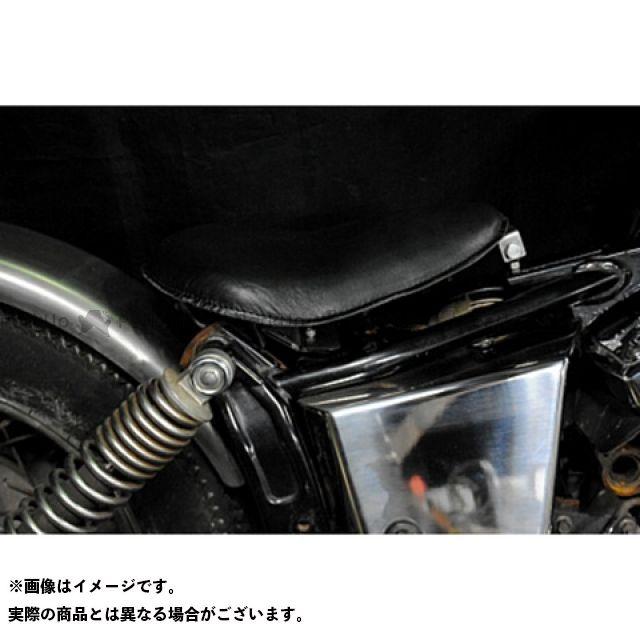 部品屋K&W ドラッグスター250(DS250) ドラッグスター400(DS4) 専用ソロシートKIT リジットタイプ(本革サドルシート) 車種:DS250 カラー:黒 ブヒンヤケーアンドダブリュー