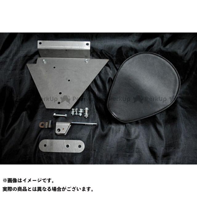 部品屋K&W ドラッグスター1100(DS11) DS1100専用ソロシートKIT リジットタイプ(プレーン) カラー:黒 ブヒンヤケーアンドダブリュー