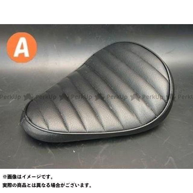 部品屋K&W ドラッグスター1100(DS11) DS1100専用ソロシートKIT リジットタイプ(ステッチ) タイプ:Aタイプ カラー:白 ブヒンヤケーアンドダブリュー