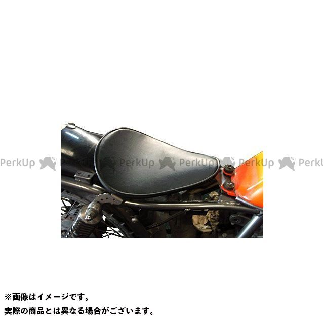 部品屋K&W グラストラッカービッグボーイ 専用ソロシートKIT リジットタイプ(プレーン) カラー:薄茶 ブヒンヤケーアンドダブリュー