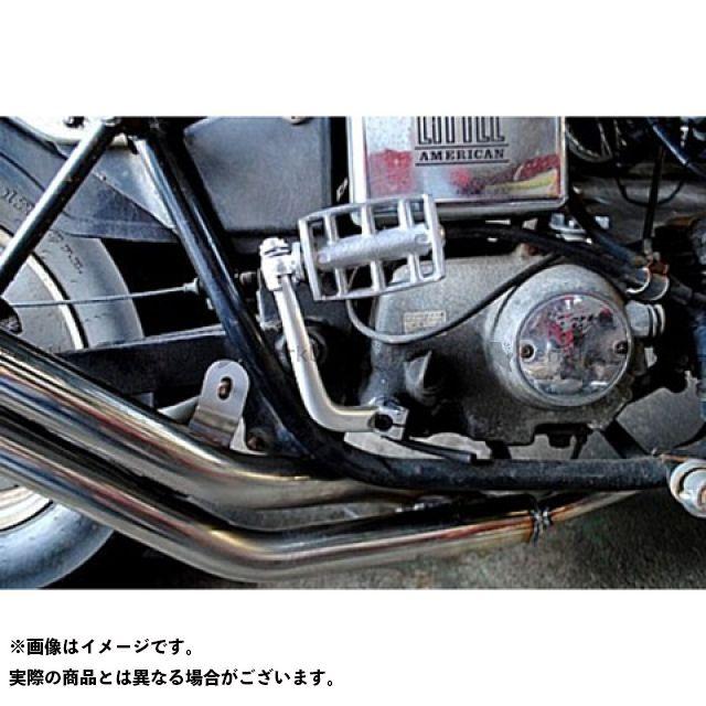 部品屋K&W ジャズ JAZZ50用 キックペダル 仕様:アルミ ブヒンヤケーアンドダブリュー
