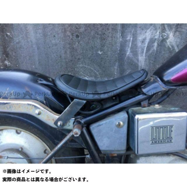 部品屋K&W ジャズ JAZZ50用ソロシートKIT(ステッチ) タイプ:Eタイプ カラー:黒 ブヒンヤケーアンドダブリュー