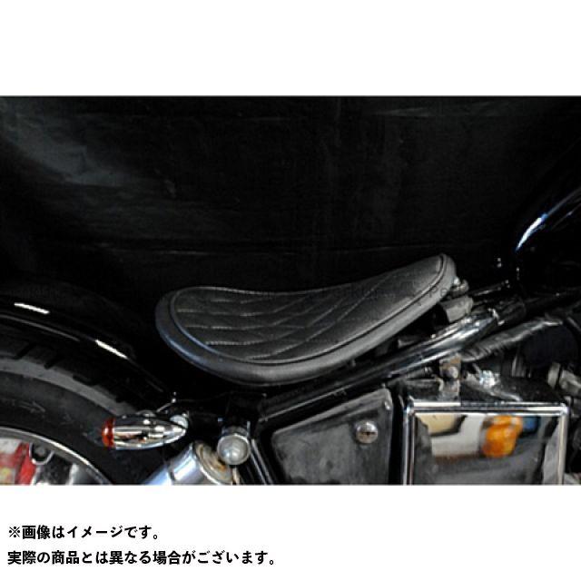 部品屋K&W ジャズ JAZZ50 フラットフェンダー用ソロシートKIT(ステッチ) タイプ:ダイヤ カラー:黒 ブヒンヤケーアンドダブリュー
